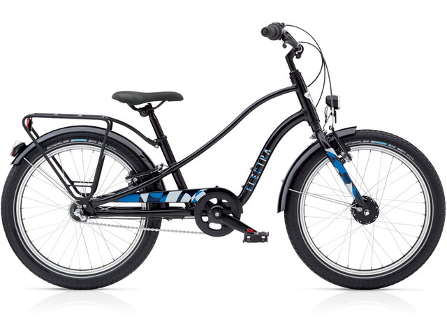 """Electra Sprocket 3i EQ Børnecykel 20"""" blå/sort"""